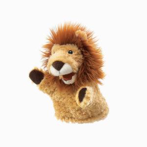 Folkmanis Little Lion Puppet front view